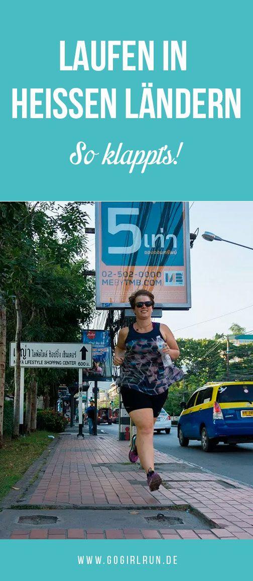 Laufen im Urlaub? Hier findest Du Tipps und Tricks um im Urlaub und auf Reisen in heißen und tropischen Ländern wie Thailand, Südeuropa oder auch Australien joggen gehen zu können. Bleibe fit & gesund.  #laufen #reisen #reisetipps #lauftipps #training #fitfam