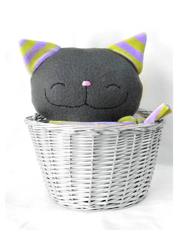 Stuffed cat stuffed animal plush cat stuffed toy rag doll