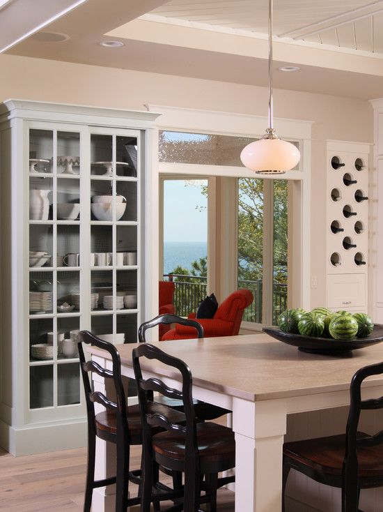 Built In China Cabinet Design Pictures Remodel Decor And Ideas