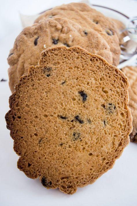 Безглютеновое печенье с шоколадом. Рецепт без глютена