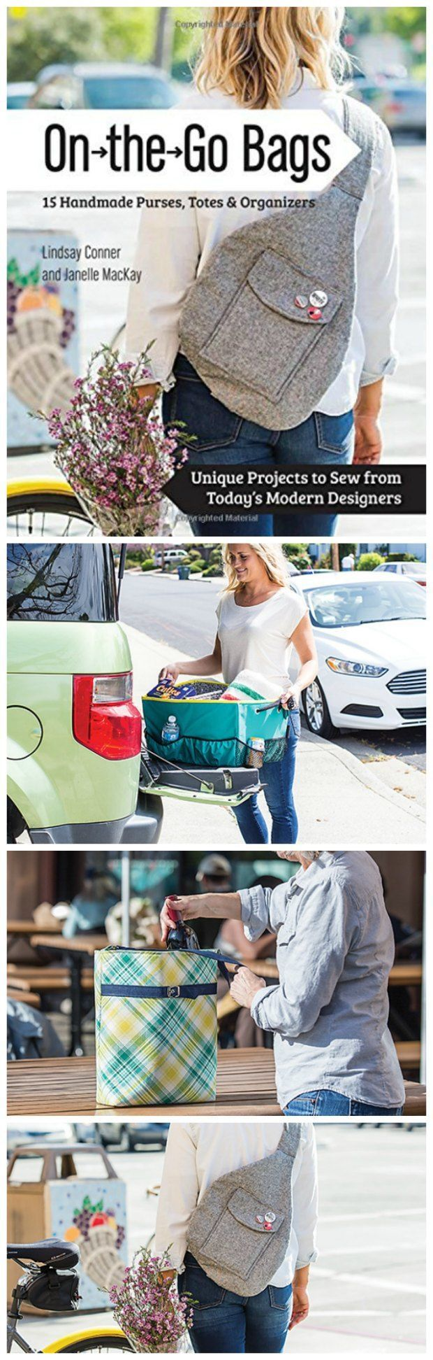 Conners sales group red hat project - On The Go Bags 15 Fab Bags To Sew Love This Book A