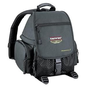 Another great product: Tamrac 5242 Adventure 2 Photo Digital SLR Camera Backpack Case (Black) Tamrac 5242 Adventure 2 Photo Digital SLR Camera Backpack Case Protect your valuable equipment with this quality carrying case The Tamrac 5242 Adventure 2 Digital SLR Camera Backpack is a compact photo backpack designed to carry a digital SLR  a 2-3 lenses and accessories. The bottom camera bag compartment is zipper accessed and completely foam-padded with adjustable foam-padded divi