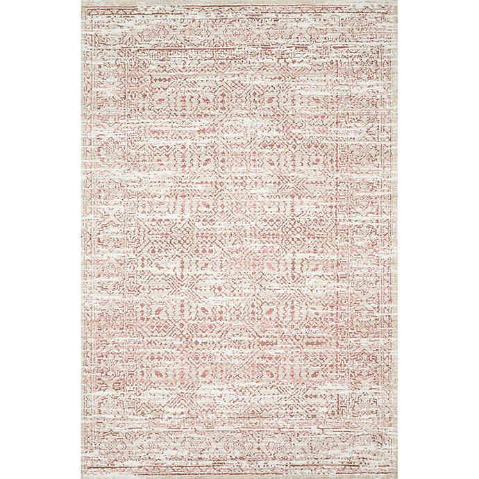 Magnolia Home By Joanna Gaines Knotted Rug In Ivory Blush Bed