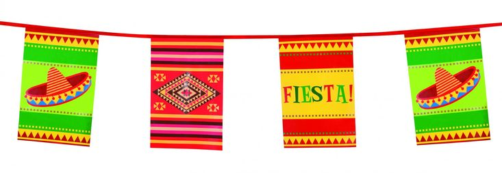 Ghirlanda in stile messicano su VegaooParty, negozio di articoli per feste. Scopri il maggior catalogo di addobbi e decorazioni per feste del web,  sempre al miglior prezzo!