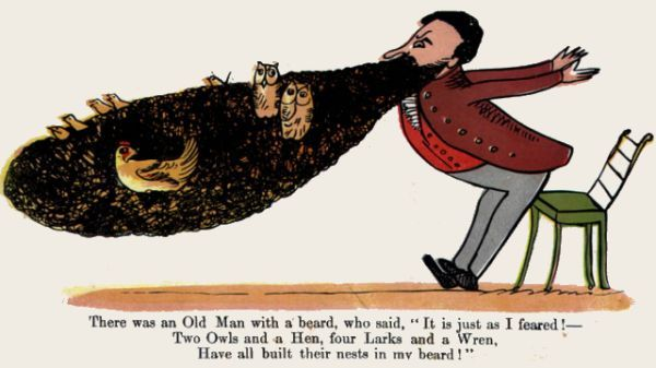 Edward Lear's illustration for his most famous limerick.