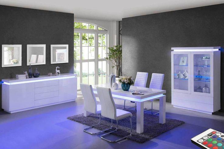 Salle à manger Alessandro: Salle à manger de style de style Moderne par Mobilier Nitro