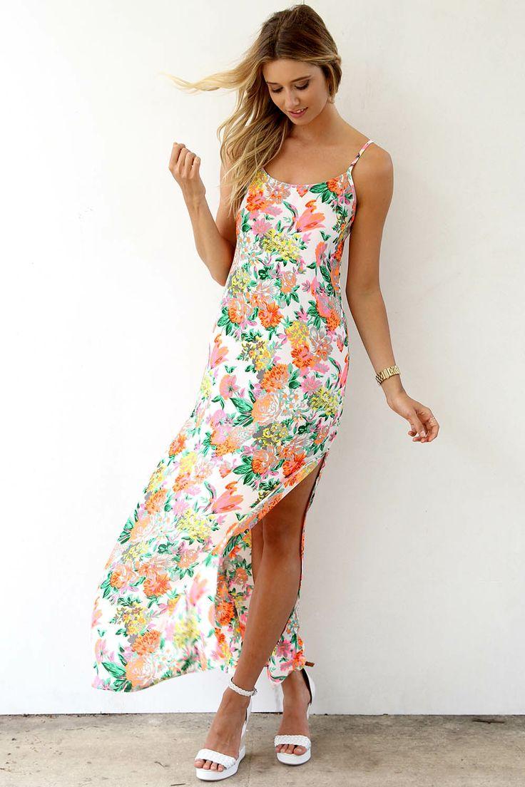 Summer Floral Maxi Dresses