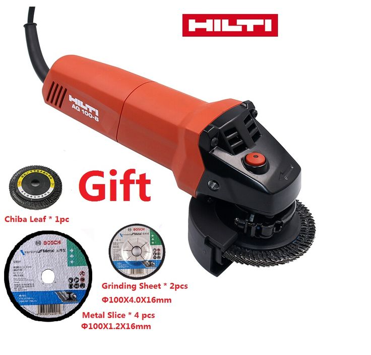 Electric Angle grinder HILTI high quality Grinding Angular Power Tool polisher for Grinding of Metal or Woodworking Machine tool #Affiliate
