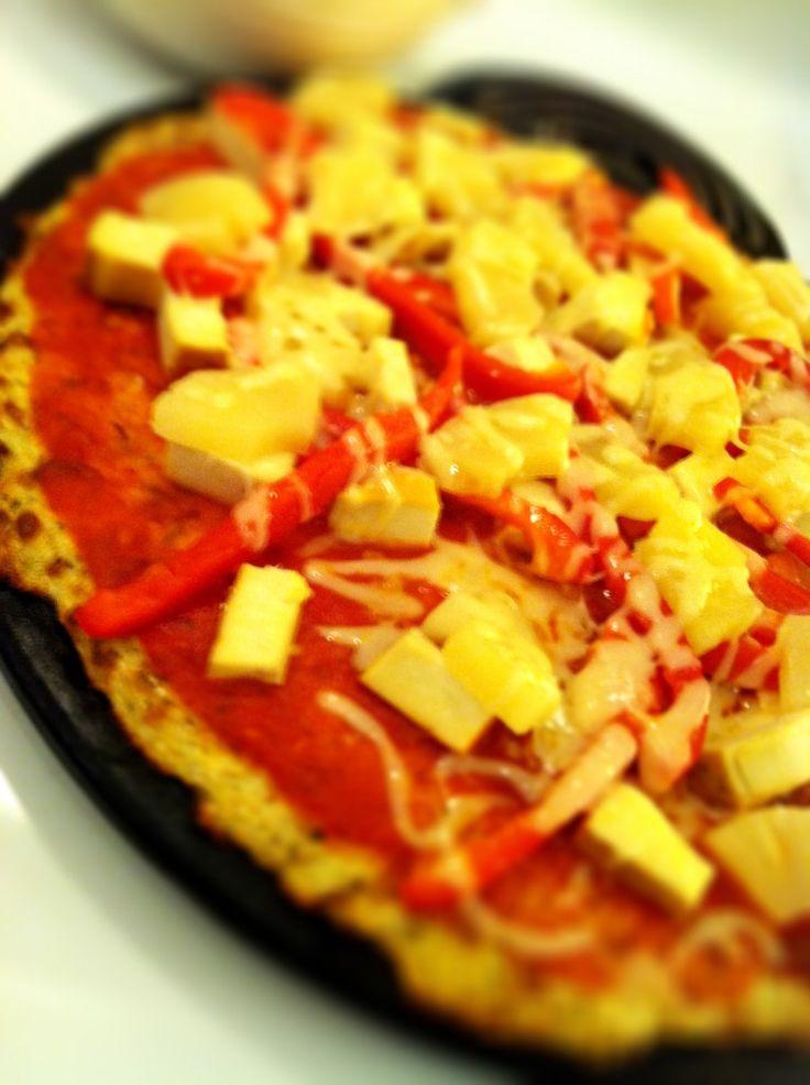 Das geheime Leben des Blumenkohls (Pizzakruste, Knoblauchzehen & Schlagkartoffeln)   – Keto casserole