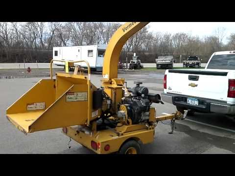 Vermeer Commercial Wood Chipper, Model BC625A. - Tuberov