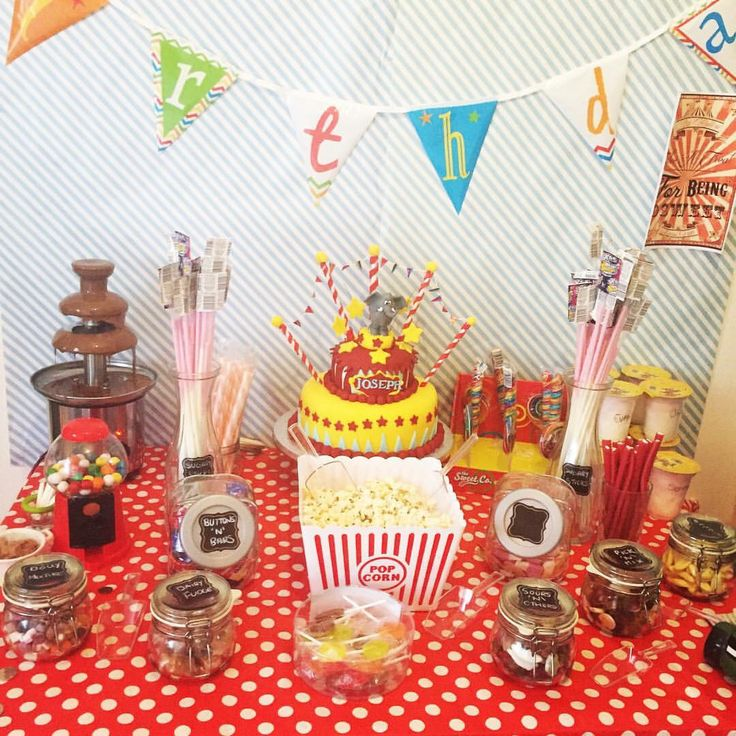 Circus themed party I threw for sons first birthday