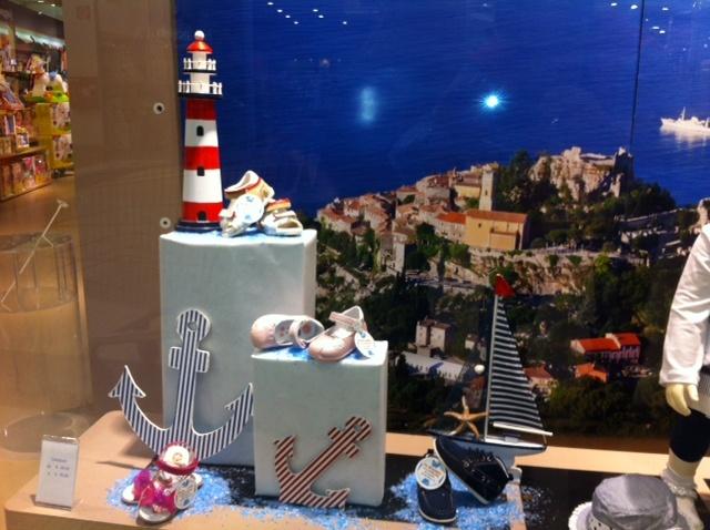 Vetrina Mare Chicco. Decorado By Creation Vetrina