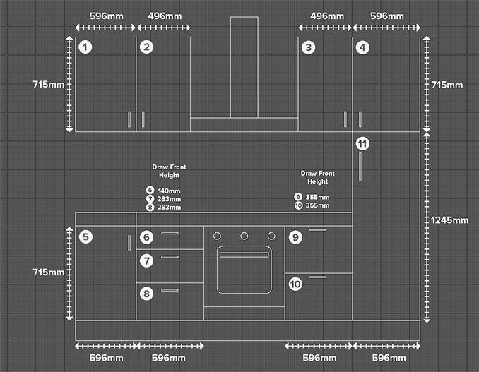 """measuring kitchen fronts - """"Google"""" paieška"""