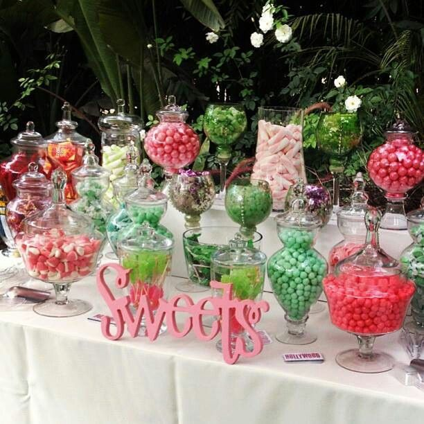 Rent your Candy Table Items at SugarSugar and purchase