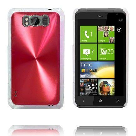 Aluminium Shield (Rød) HTC Titan Cover