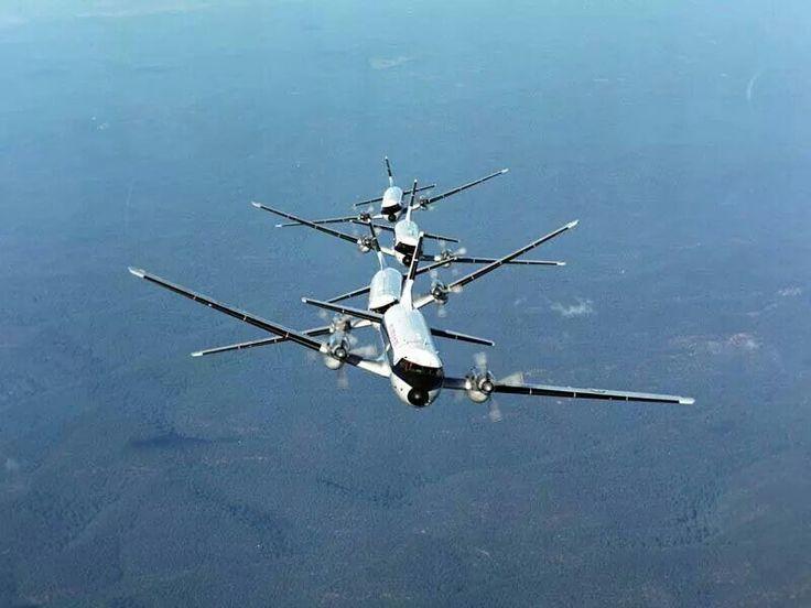 RAN Hawker Siddeley HS-748 formation