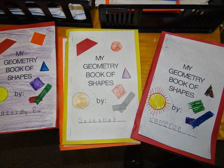 PATTIES CLASSROOM: Geometry Shape Books and Pattern Block Art