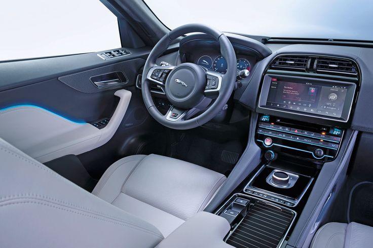 New Jaguar F-Pace revealed - pictures   Jaguar F-Pace - interior   Auto Express