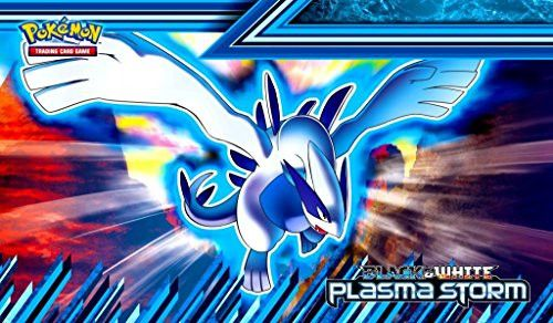 Lugia Pokemon TCG playmat, gamemat 24 wide 14 tall for trading card game smooth cloth surface rubber base