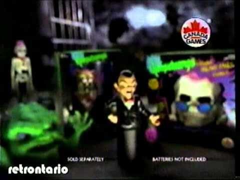 Goosebumps Toys 1996