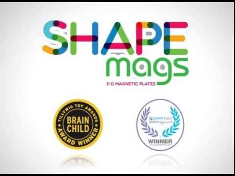 Create and build with #ShapeMags magnetic tiles. Shape Mags develops: -Patterning -Shape recognition -Motor skills Let's play, and let the fun begin! This set is compatible to all other magnetic sets. Recommended for ages 3+. Fully compatible with Magna-tiles TM brand & all other major brands. https://www.toys2discover.com/collections/shape-mags