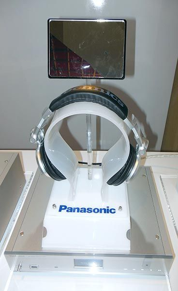 Panasonic Launch 2015 - Headphone display