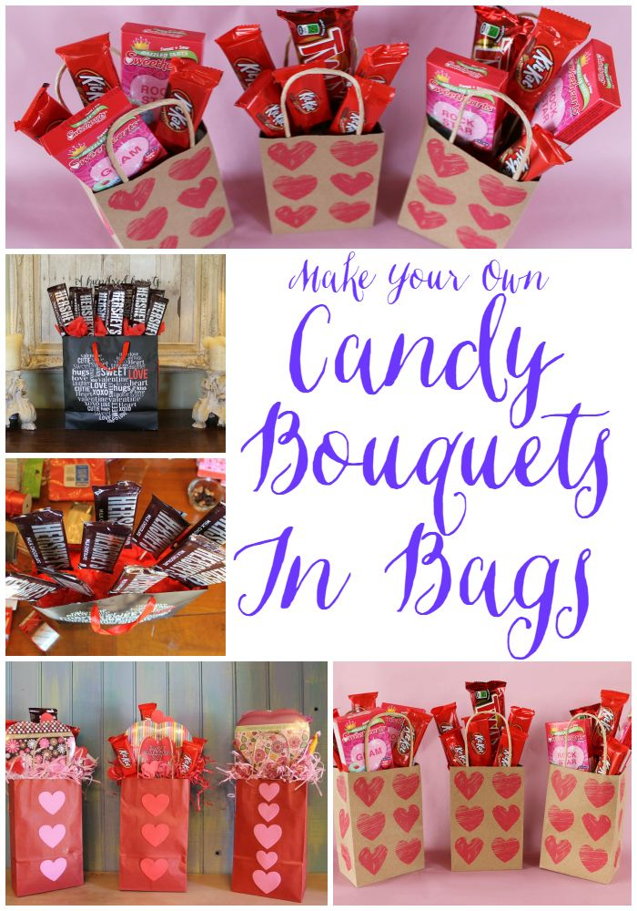 Make A Candy Bouquet In A Bag                                                                                                                                                                                 More