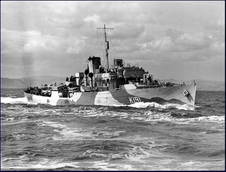 HMCS Mayflower, circa 1942. Honours and awards: Atlantic 1941-43; Normandy 1944…