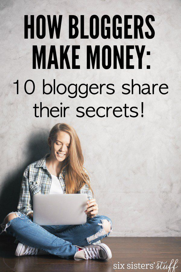 How Bloggers Make Money - 10 different bloggers share their monthly income report