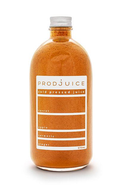 Carrot apple turmeric ginger   Prodjuice www.prodjuice.com.au