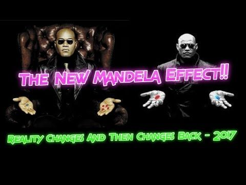 The New Mandela Effect!! Reality Changes And Then Changes Back - 2017
