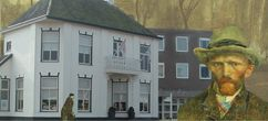 Van Gogh Huis te Veenoord/Nieuw-Amsterdam in Drenthe