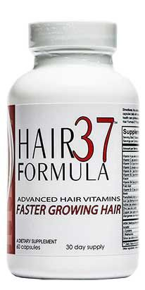 The all NEW Hair Formula 37 hair vitamin. It is now not only the best hair vitamin for faster hair growth for women, but is easy to take! 2 capsules a day...easy!! www.hairformula37.com