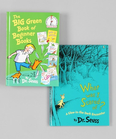 Take a look at this The Big Green Book Hardcover Set by Dr. Seuss Collection on #zulily today!