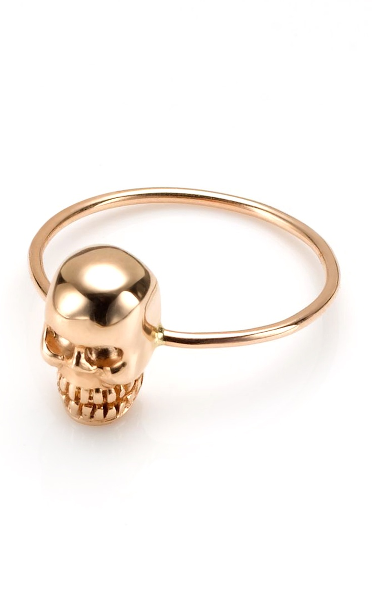 Kismet by Milka Skull Ring at Moda Operandi