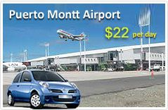 Hire an affordable car on rent at Puerto Montt Airport