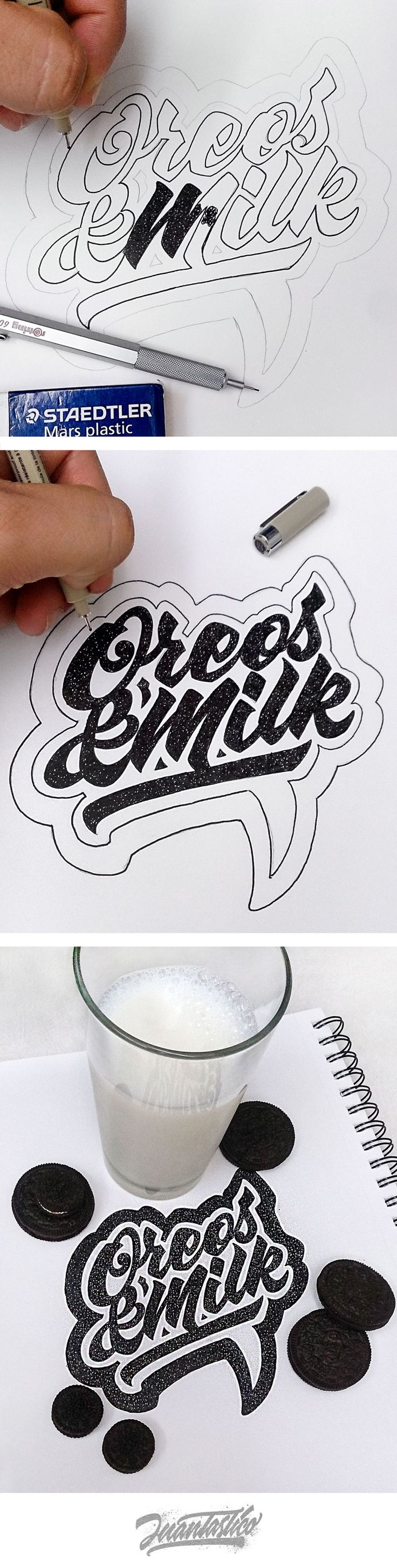 Typography Illustrations Vol.2 on Behance