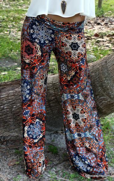 Mandala exuma pants - BOCALECHE - 2