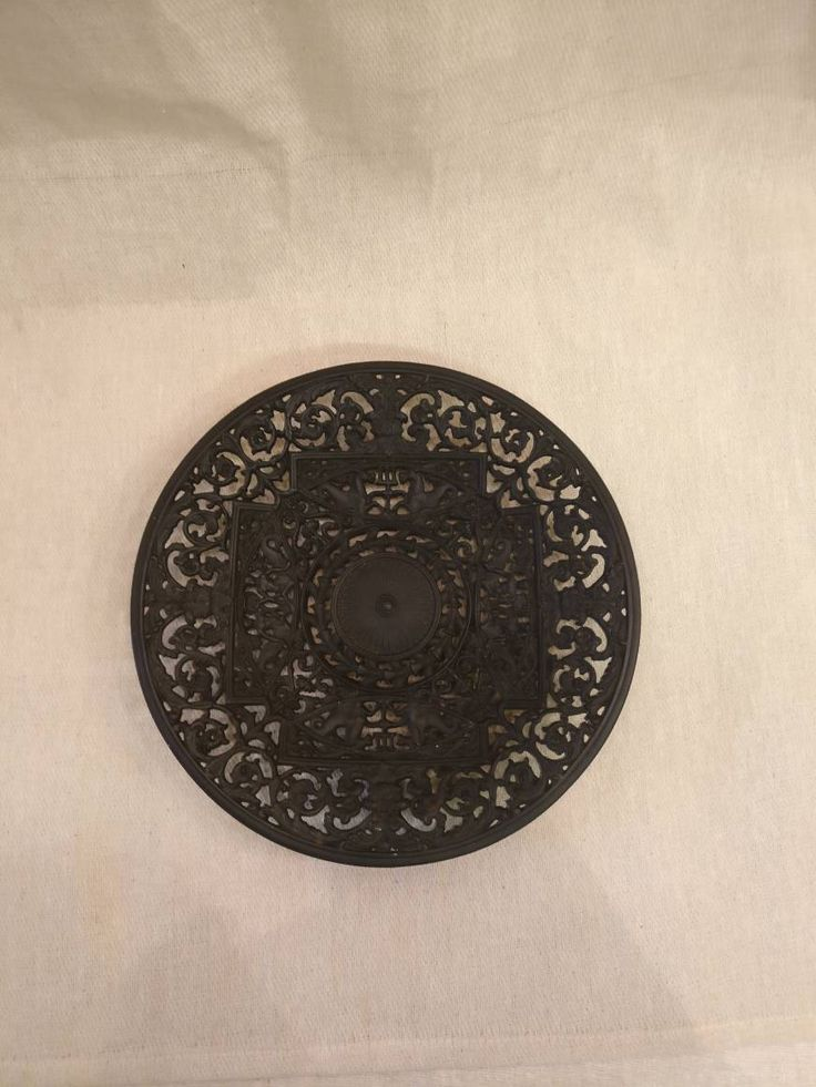 Buderus Cast iron Plate by FionasTreasureChest on Etsy