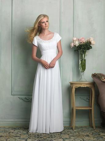 66 best Modest Wedding Dresses images on Pinterest | Wedding frocks ...
