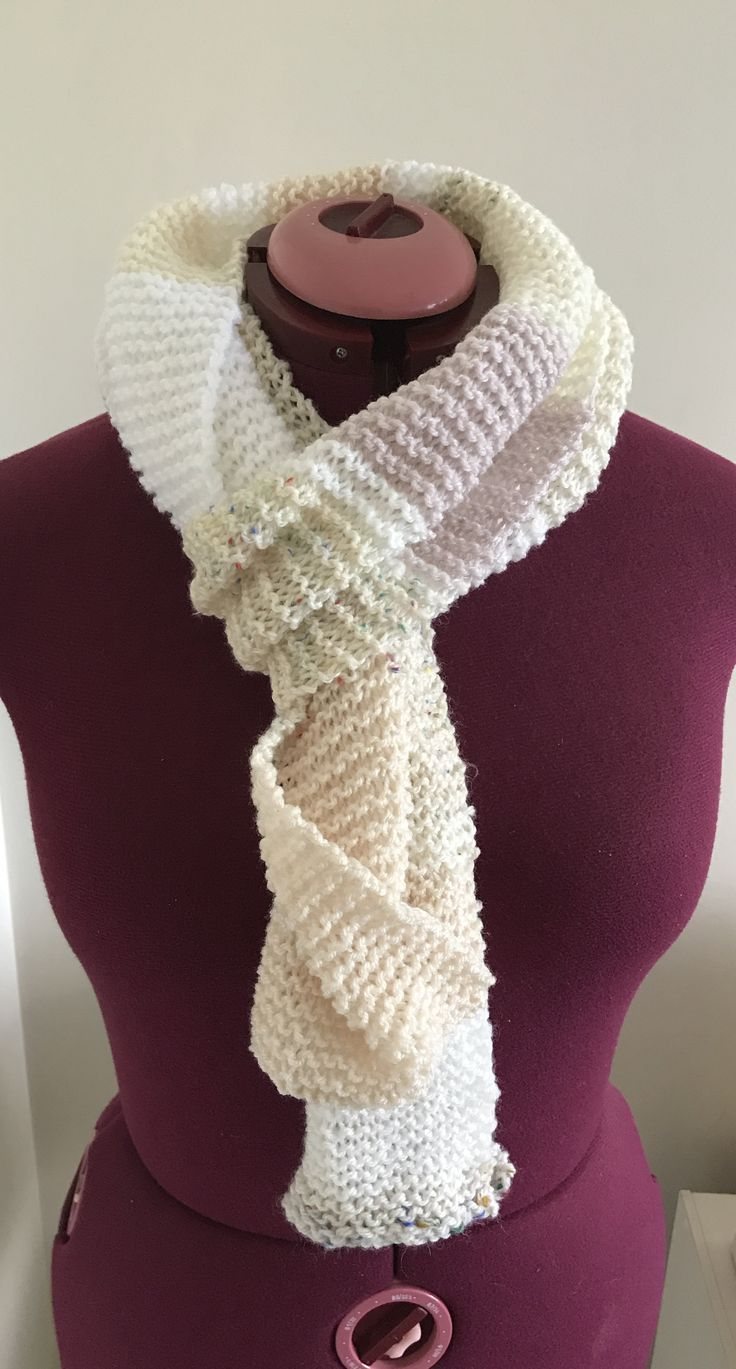 Wide extra long scarf from CraftyChicHandmade on Etsy