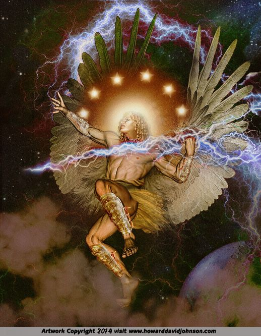 """Râmîêl is a fallen Watcher in the apocryphal Book of Enoch, one of 20 leaders, mentioned sixth. His name means """"thunder of God"""" from the Hebrew elements ra'am and El, """"God"""". Râmîêl is also the name of an angel, and is described as """"one of the holy angels whom God has set over those who rise"""" from the dead, in effect the angel that watches over those that are to resurrect."""