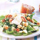 Maaltijdsalade met courgette en camembert - recept - okoko recepten