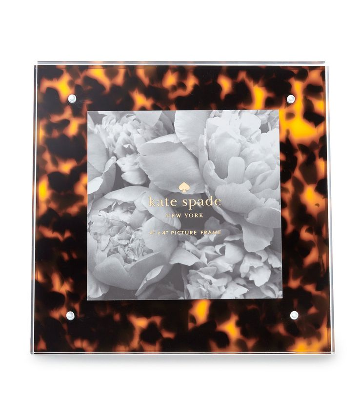 kate spade new york tortoise picture frame