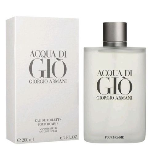 Acqua Di Gio Cologne by Giorgio Armani 6.7 oz Eau De Toilette Spray for Men NIB #GiorgioArmani