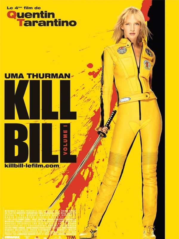 Beatrix Kiddo, a.k.a Black Mamba KILL BILL
