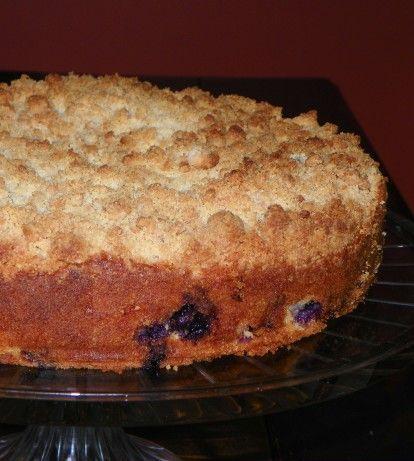 Barefoot Contessas Blueberry Crumb Cake Recipe - Food.com