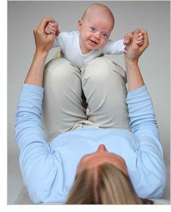 Ayuda a tu bebé a desarrollar su habilidades motoras gruesas y su sentido de la vista. Juegos para bebés de 2 meses y dos semanas.