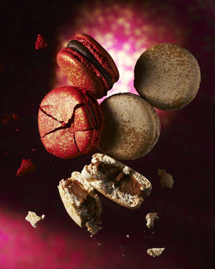 PIERRE HERME. Foie Gras macarons: Chocolate & Foie Gras, and Wildrose hip, Fig & Foie Gras (gift assortments start from £16 for 7 pieces)