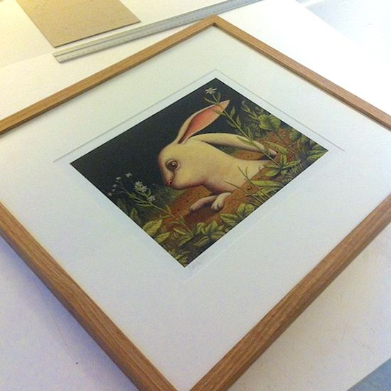 Rabbit In a Frame, Picture Framing, London - Just Got Made